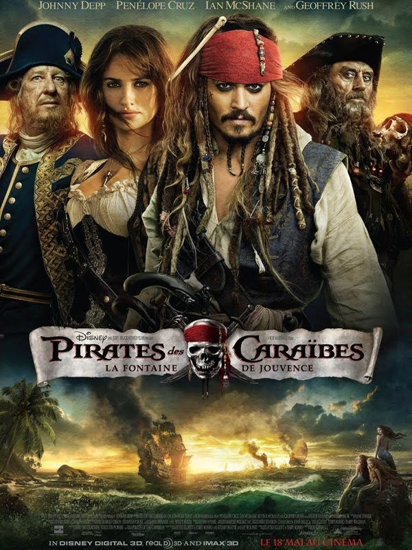 Pirates des Caraïbes 4 : la Fontaine de Jouvence streaming vf