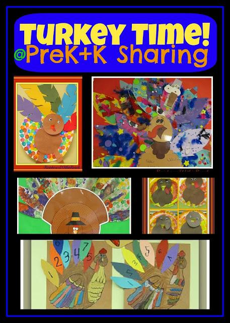 "photo of: ""Turkey Time"" Art Projects for Preschool + Kindergarten via PreK+K Sharing"