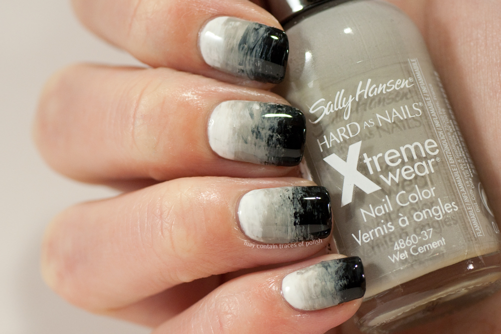 40 Great Nail Art Ideas Black And White May Contain Traces Of Polish