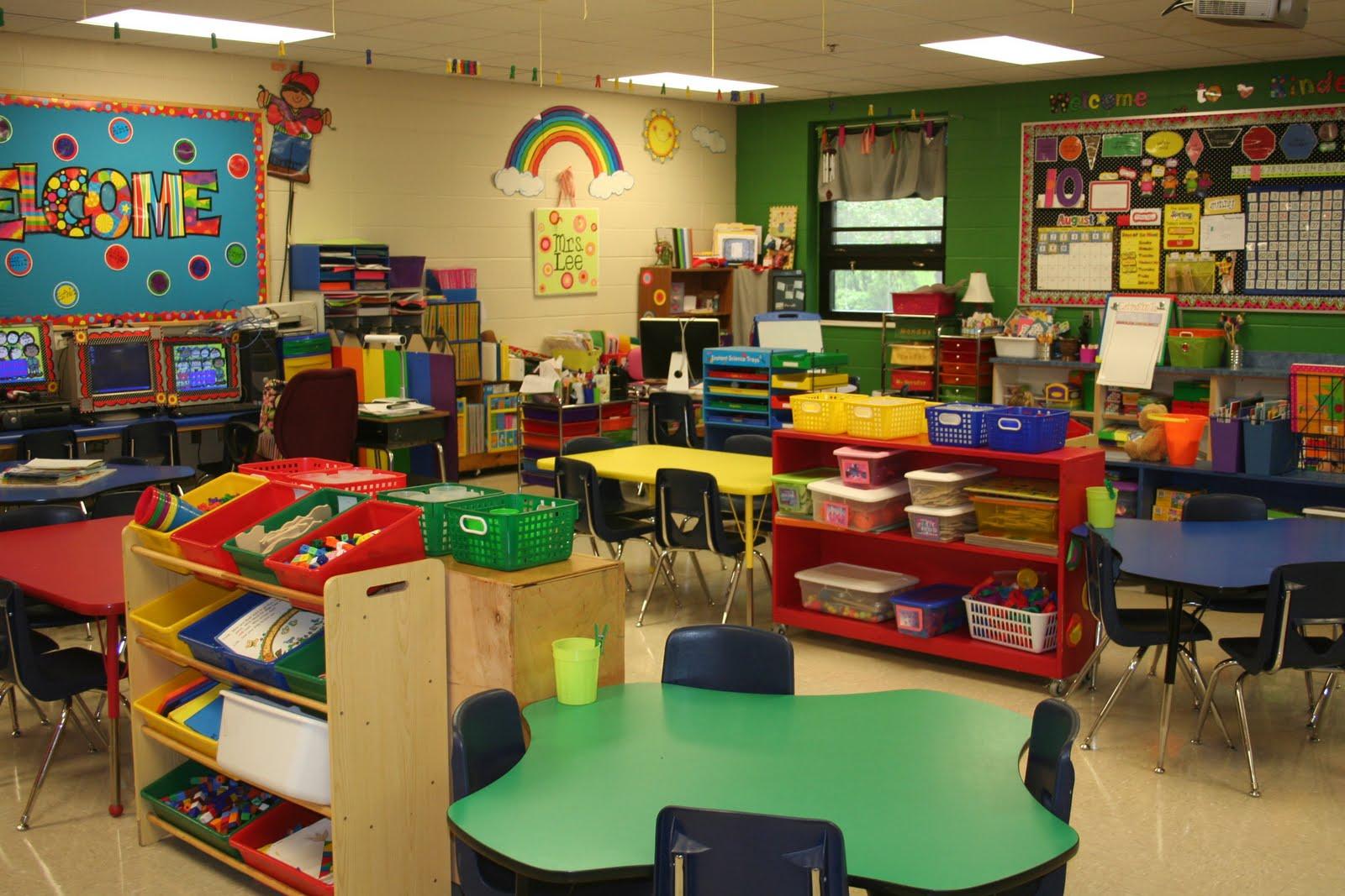 Classroom Layout Kindergarten : Characteristics of a good kindergarten classroom