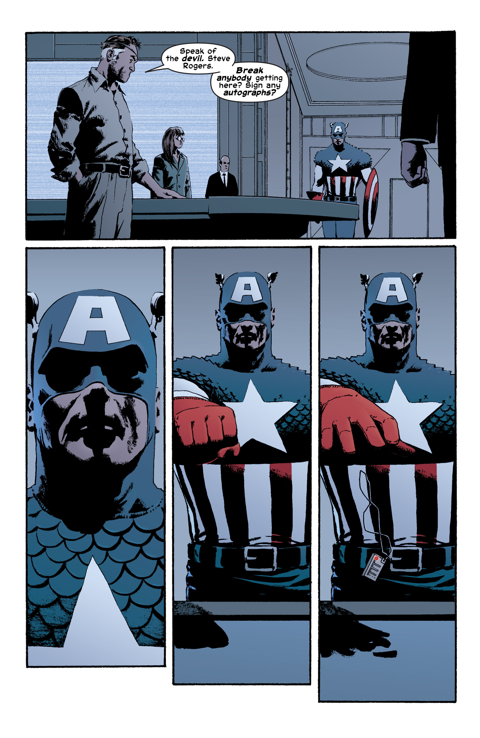 Captain America (2002) Issue #4 #5 - English 10