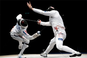 ESGRIMA-Francia masculina e Italia femenina campeones en espada y florete