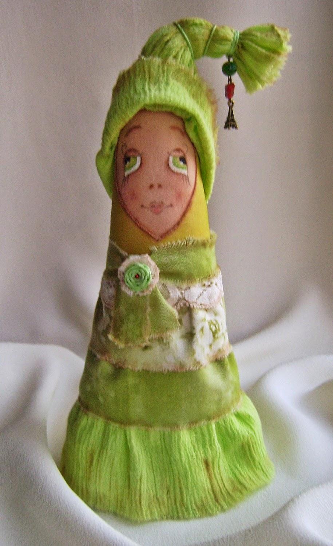 Интерьерная игрушка винтажная новогодняя елочка