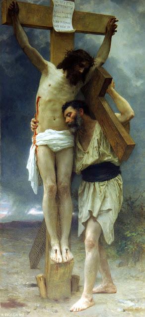 compassion,Bouguereau,Jesus