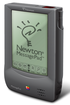 In 1993 determined to re-invent personal computing, Apples head of advanced product development Jean-Louis Gass&eacute;e [1] controversially delayed the release of the MessagePad 100 because it failed to meet the <a href=http://www.alternatehistory.com/discussion/showthread.php?t=72696>original design goals</a> for the Newton.