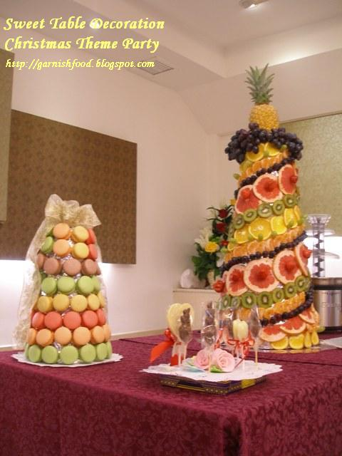 GarnishFoodBlog Fruit Carving Arrangements and Food Garnishes 1