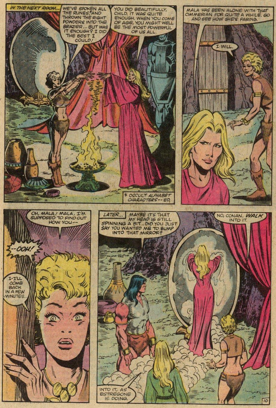 Conan the Barbarian (1970) Issue #146 #158 - English 13