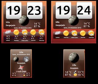 My Weather Indicator, ahora con widgets, meteorología en Ubuntu