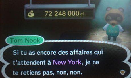 Tom Nook achète