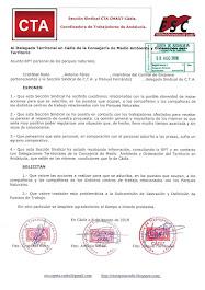 Solicitamos al Delegado de la Consejería de Medio Ambiente y Ordenación del Territorio en Cádiz la