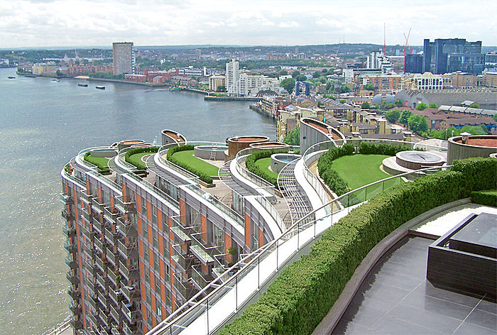 Decorando dormitorios fotos de terrazas en edificios for Terrazas ajardinadas