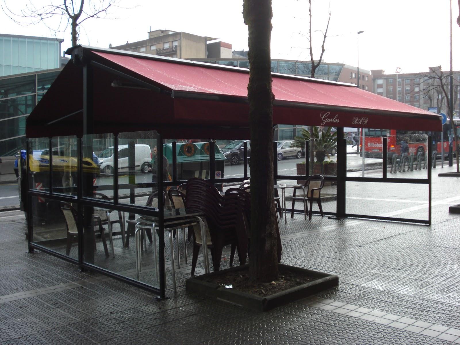 Terrazas climatizadas para hosteleria for Terraza bar