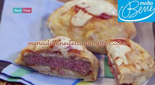Pizza burger ricetta Parodi per Molto Bene