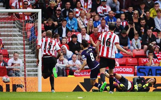 Sunderland 0 x 1 Tottenham - Premier League 2015/16