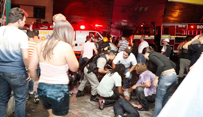 heridos en incendio en discoteca kiss de brasil 2013