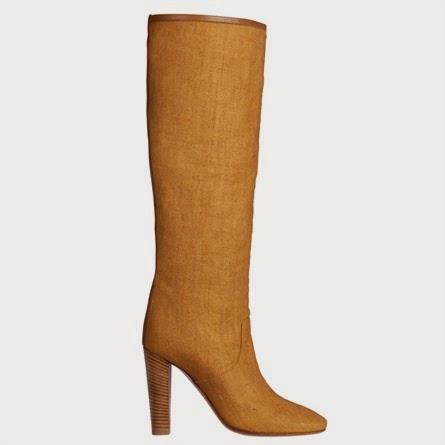 stivali in lino Hermès