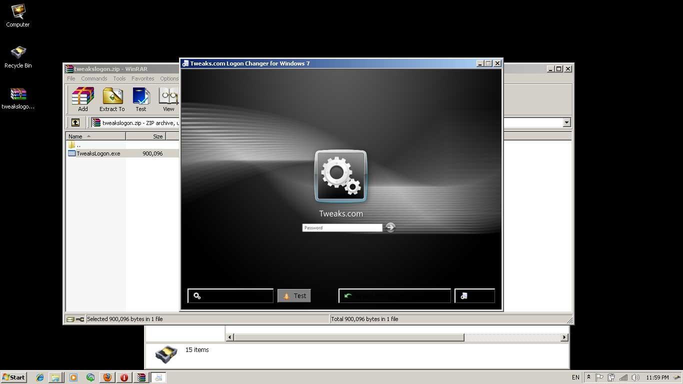 windows 7 logon screen changer nianyldesk