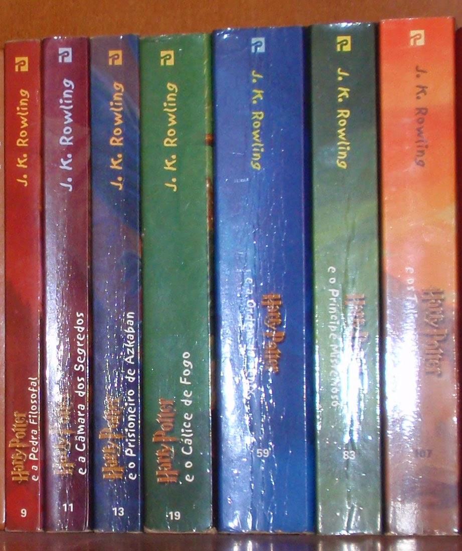 Colecção Harry Potter de J. K. Rowling