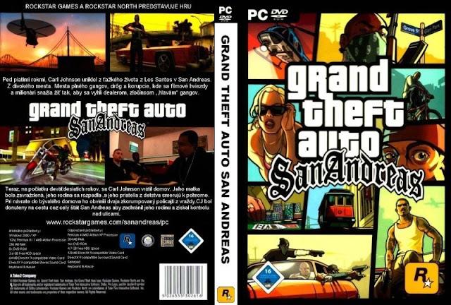 تحميل لعبة Gta San Andreas 3 برابط واحد وبدون تثبيت