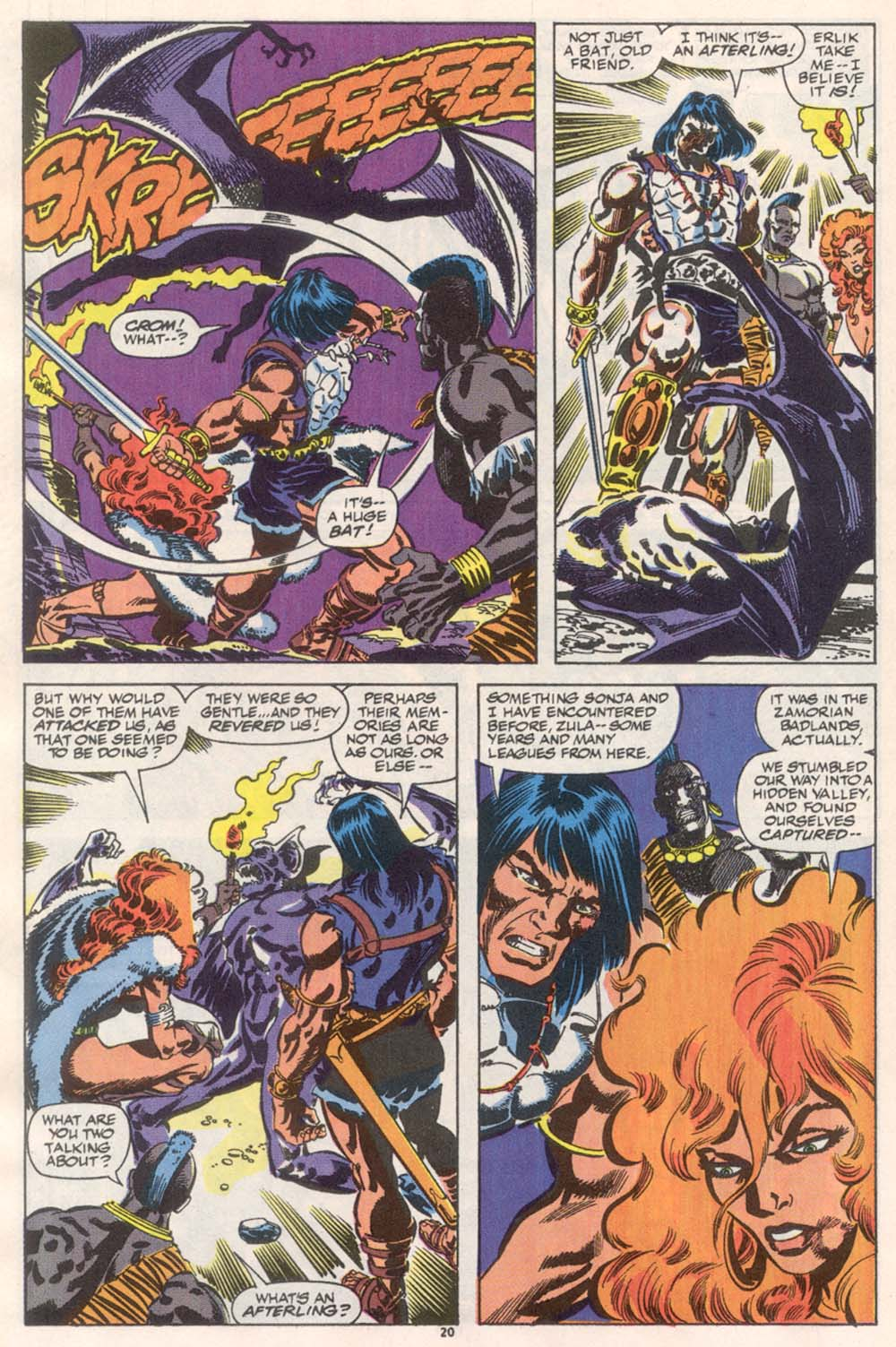 Conan the Barbarian (1970) Issue #244 #256 - English 16