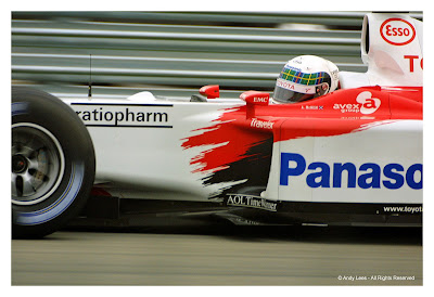 Alan McNish Toyota F1 Indianapolis Grand Prix 2002