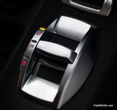 Alfa Romeo 4C mode selector