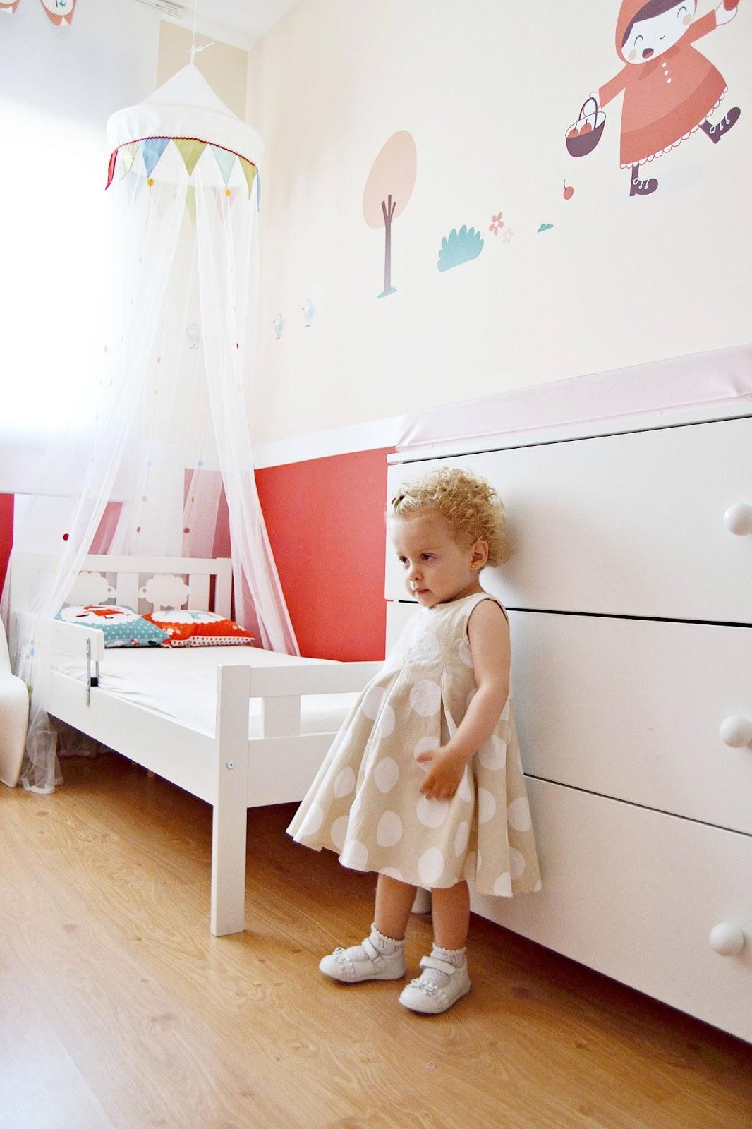 Mam de noa cambio de habitaci n de beb a mayor - Habitacion pequena nina ...
