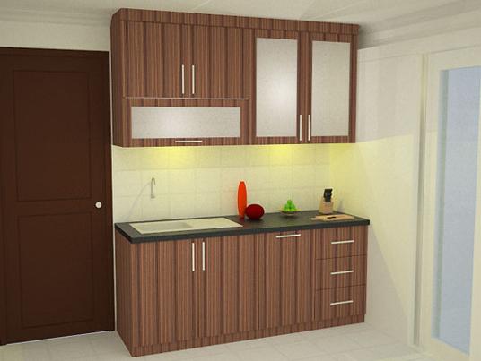 desain interior dapur sederhana yang unik dan minimalis
