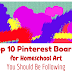 Top 10 Pinterest Boards for Homeschool Art You Should Be Following