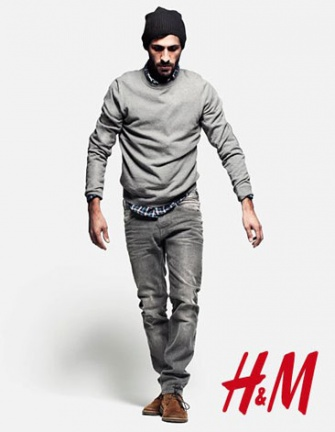 Katalog winter herren kleidung h m 2012