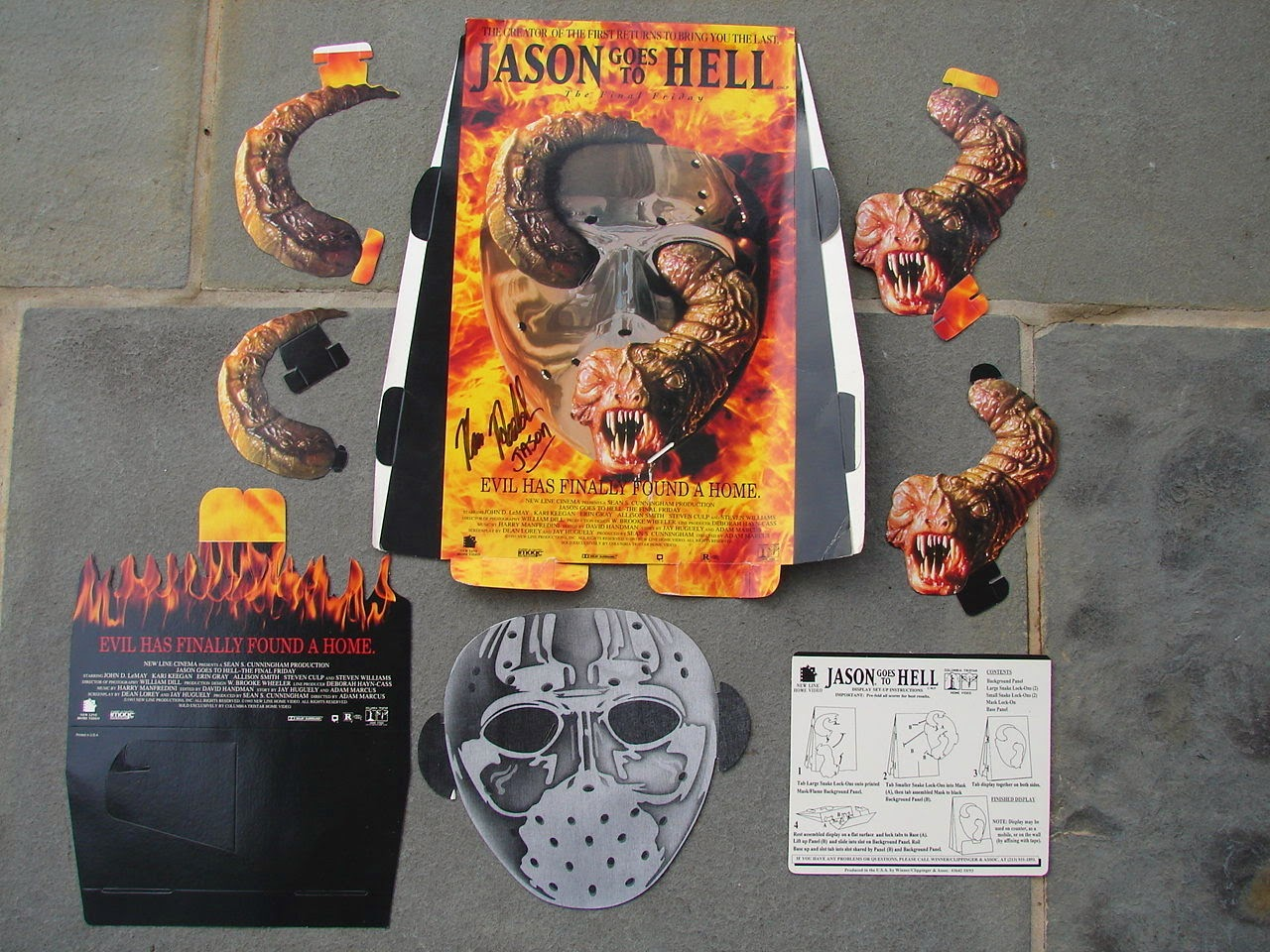 Jason Unmasked Jason Goes Hell 'jason Goes to Hell' 3-d