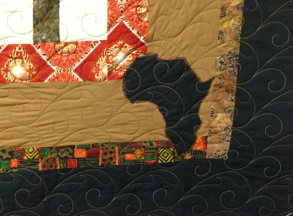 Norma Cannon African Quilt