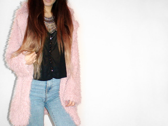 faux fur coat outfits
