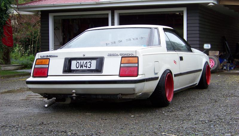 Toyota Corona T140, ciekawe klasyczne auta, fajne stare samochody