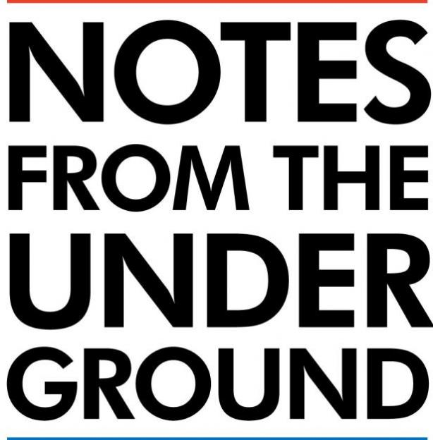 dostoevskys notes from underground a revolutionary hero All about notes from underground by notes from the underground dostoevsky's most revolutionary novel, notes from underground marks the dividing line.