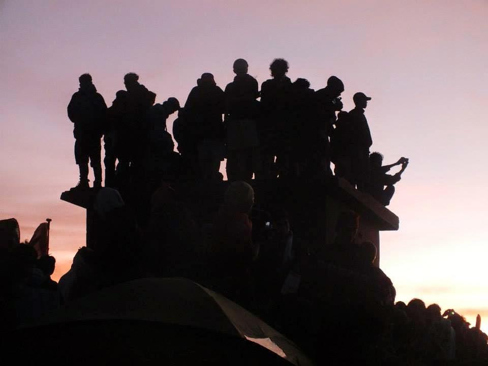 Pesta Pendaki Gunung Di Cikuray Garut
