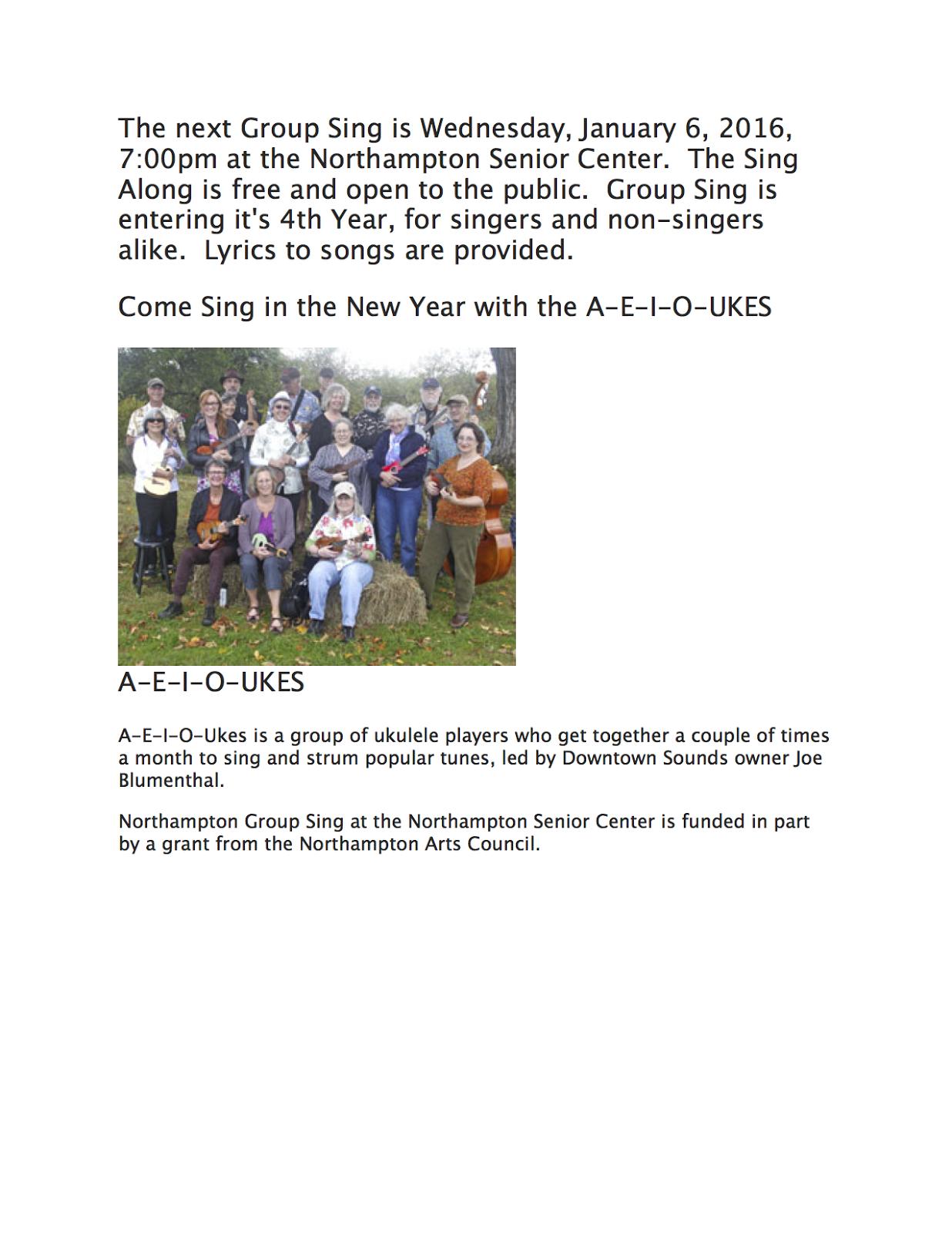 Northampton Arts Council: 2015
