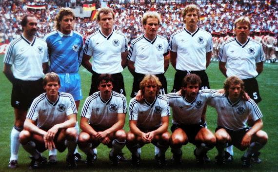 Germany - Spain 1984 ЧЕ