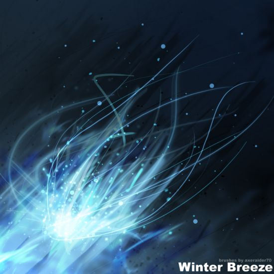 Grunge Winter Breeze Brushes