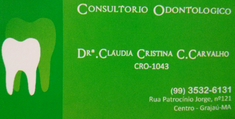 DRª CLÁUDIA CRISTINA C. CARVALHO