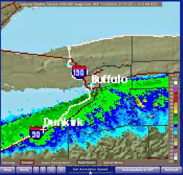 Regulus Star Notes Update On The Buffalo Area Massive Lake Effect - Nws buffalo radar