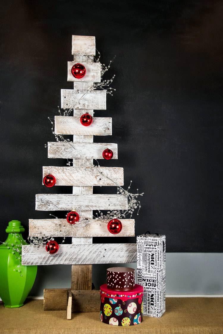 Fotos ideas para decorar casas - Arboles de navidad de madera ...