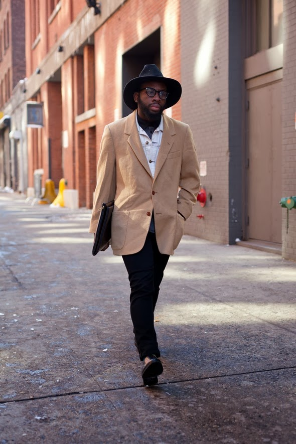 New york fashion fashion week milk studio made fashion week men in hats, winter style