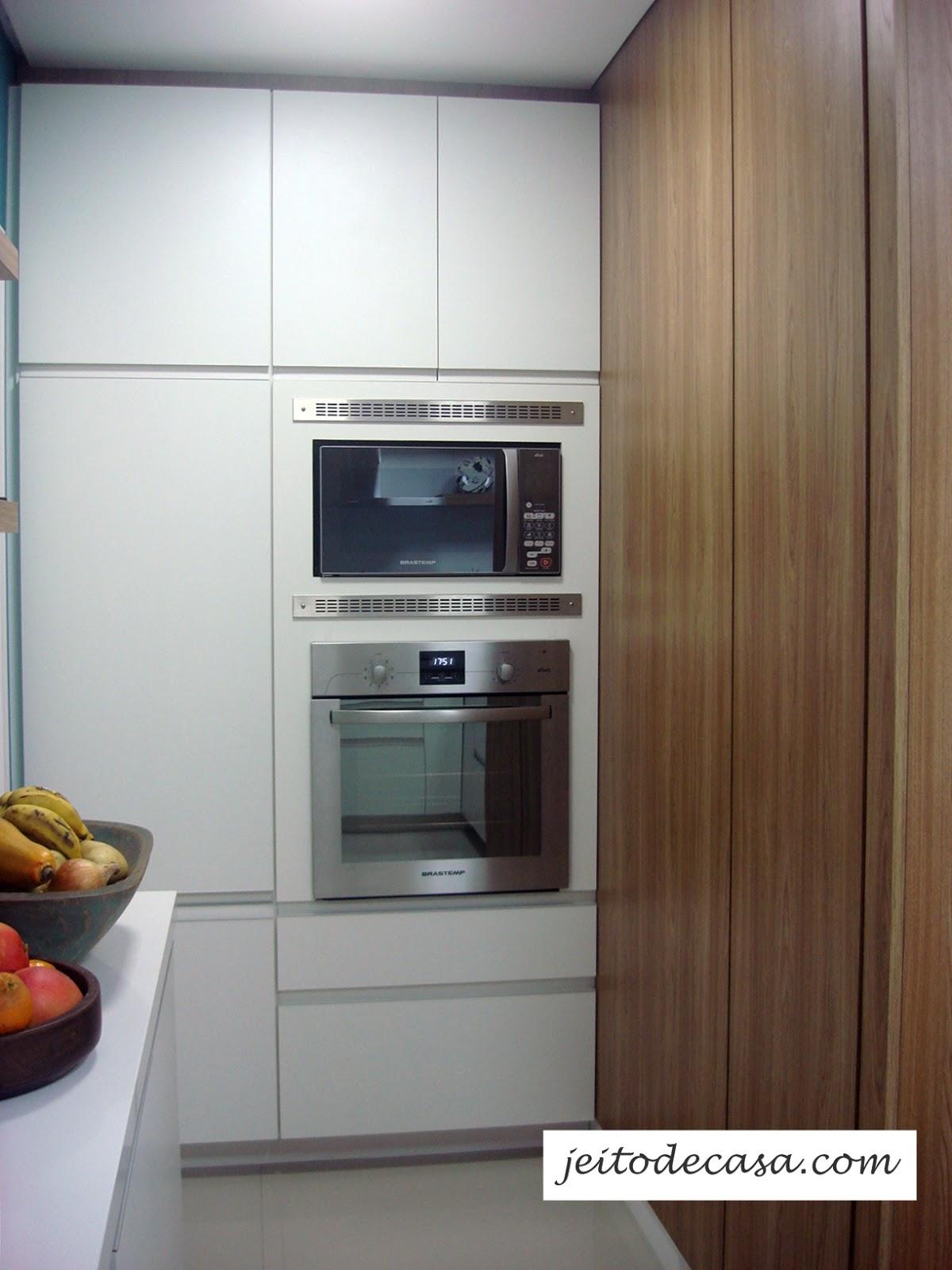 Armario De Parede Para Forno Eletrico : Cozinha branca de apartamento minha jeito