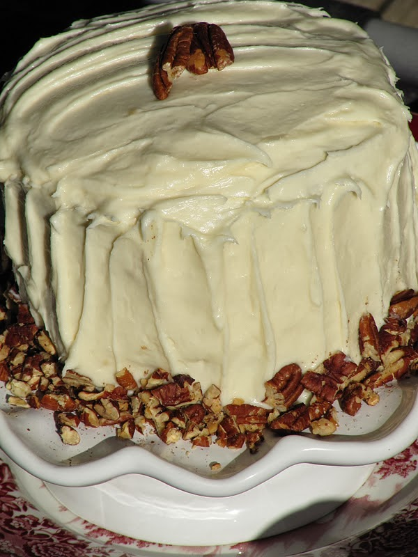 Pine Cones And Acorns Fabulous Carrot Cake Recipe