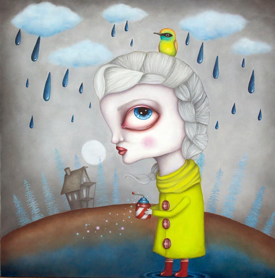 """""""Pluviophile"""", 2015"""