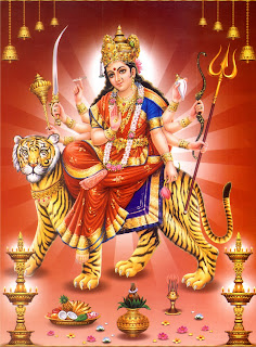 Festival celebration: Durga Mata