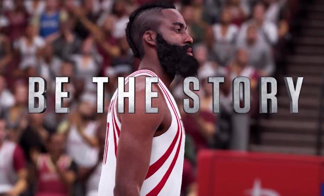 NBA 2K16 James Harden Trailer