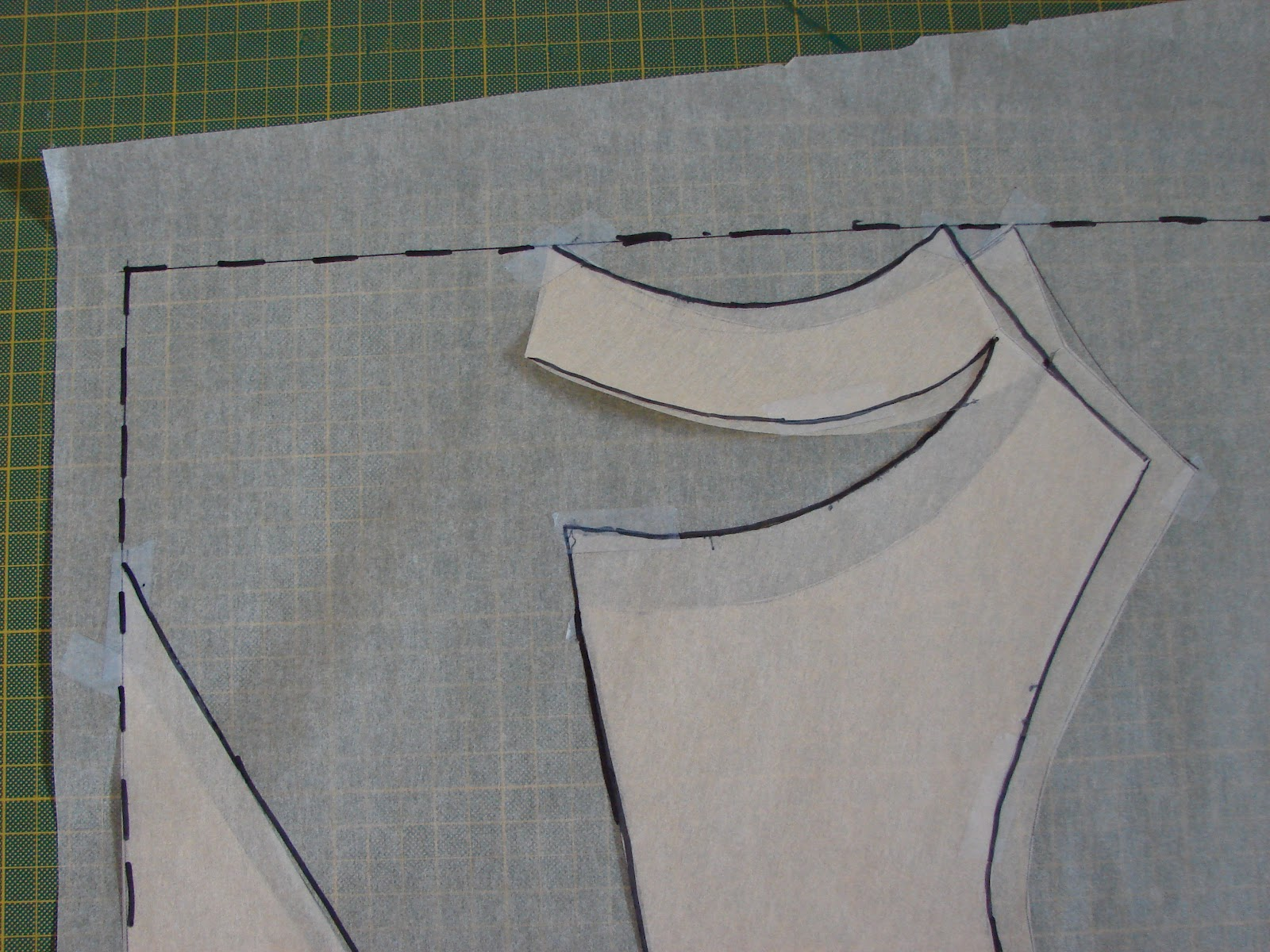 Free sewing tutorial draft a deep cowl neck top poldapop designs jeuxipadfo Image collections