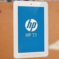 Tablet HP 7.1 é levinho e tem preço atraente